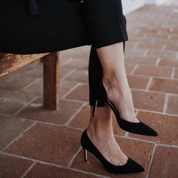 J. Crew Shoes   Jcrew Black Suede Lucie